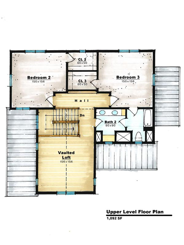 Traditional-2-2nd-Floor